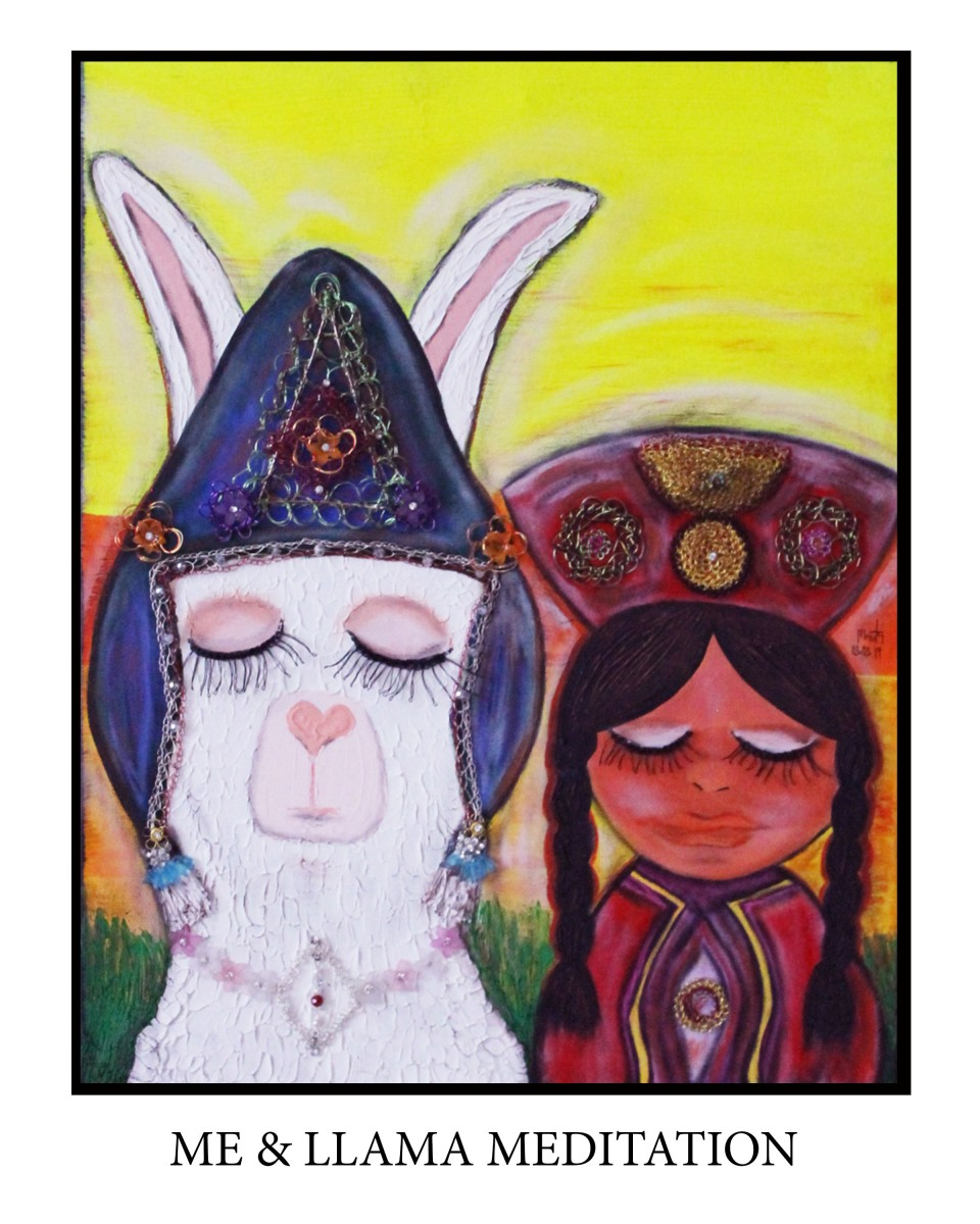 LLama Meditation (2)